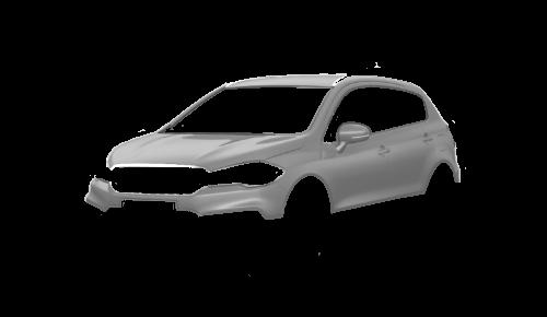 Цвета кузова SX4